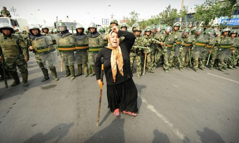 Muslim Ethnic Uyghur Woman