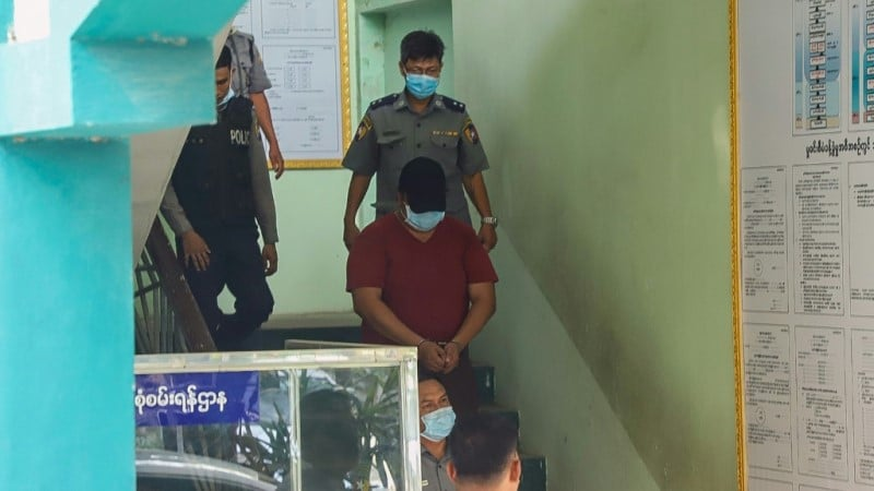 Myanmar Doctor Kyaw Win Thant.afp