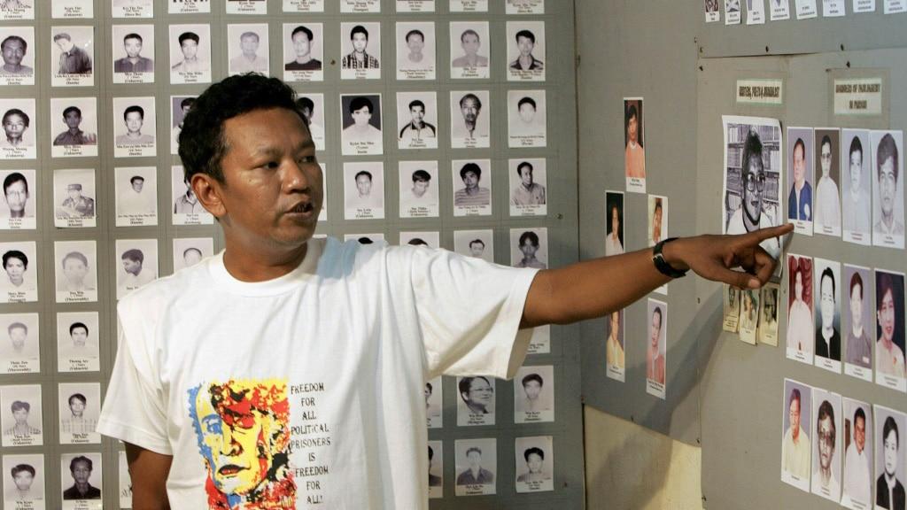 Myanmar Pro-Democracy Activist Bo Kyi.afp