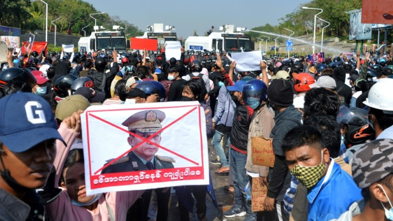 Myanmar's Anti-Coup Protests