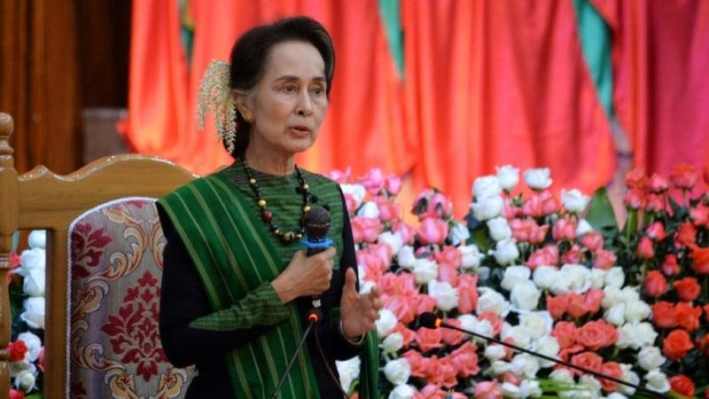 Myanmar's Civilian Leader Aung San Suu Kyi