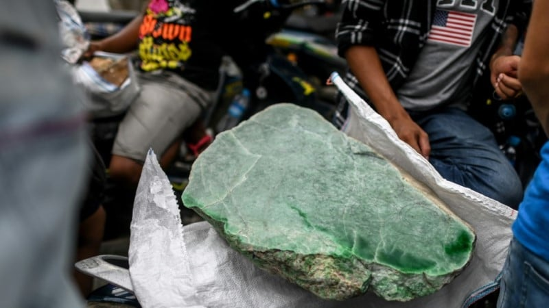 Myanmar's Jade Trade