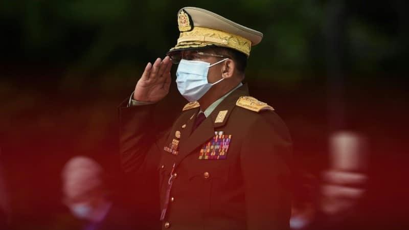 Myanmar's Junta Chief