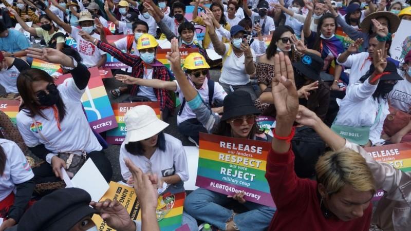 Myanmar's LGBT Community