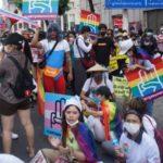Rainbow 'Revolution': Myanmar's LGBTQ Activists March Against Coup