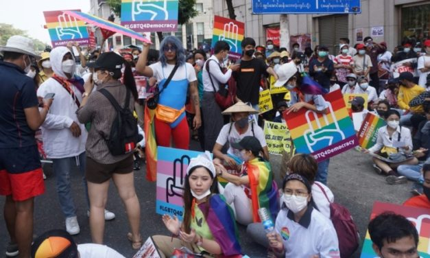 Rainbow 'Revolution': Myanmar's LGBTQ Activists March against Coup