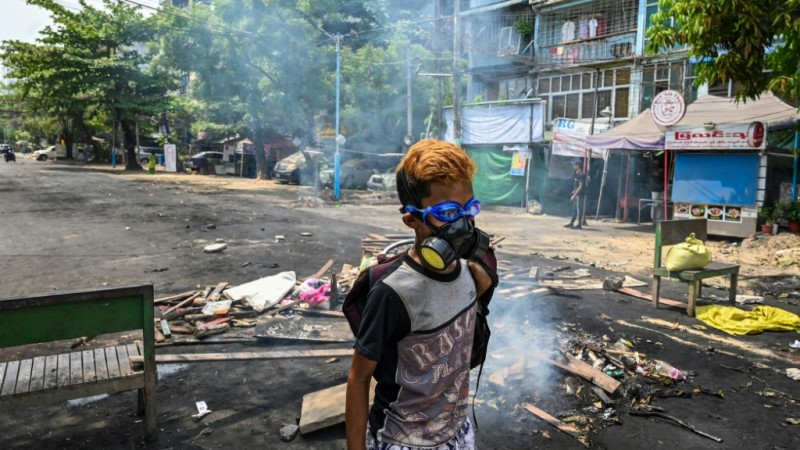 Myanmar's Military Response to Protests