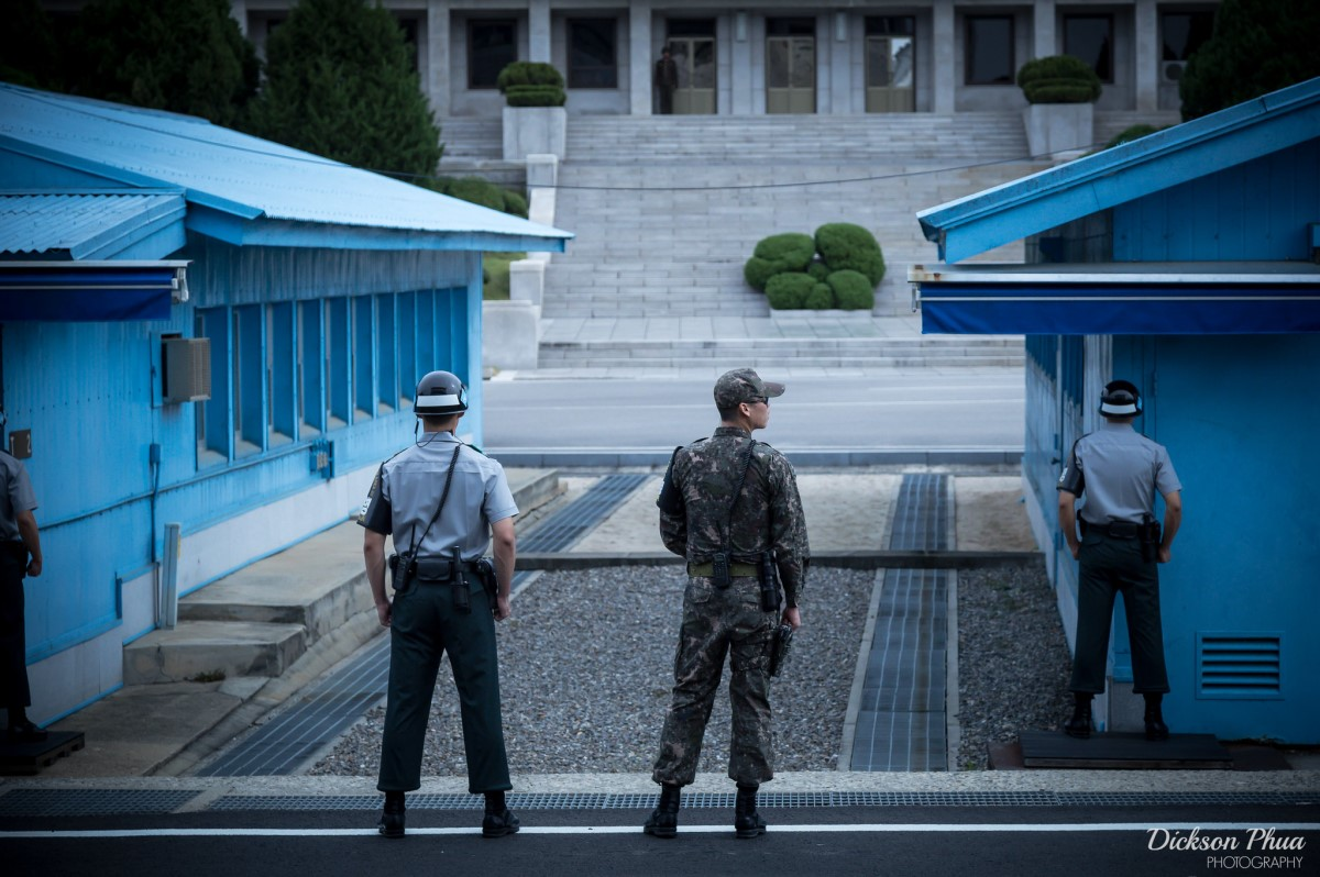 Visiting the North Korea DMZ