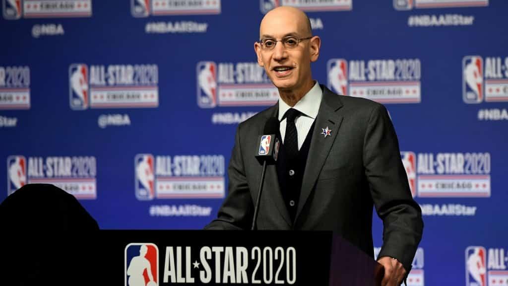 NBA Commissioner.afp
