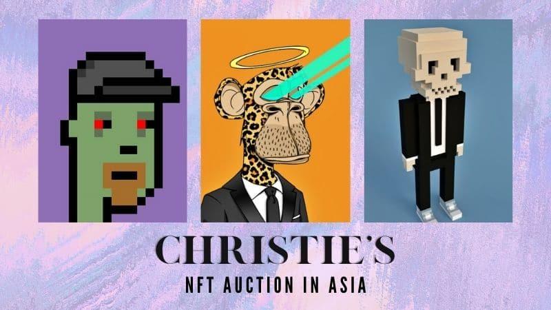 NFT Auction Asia - Banner