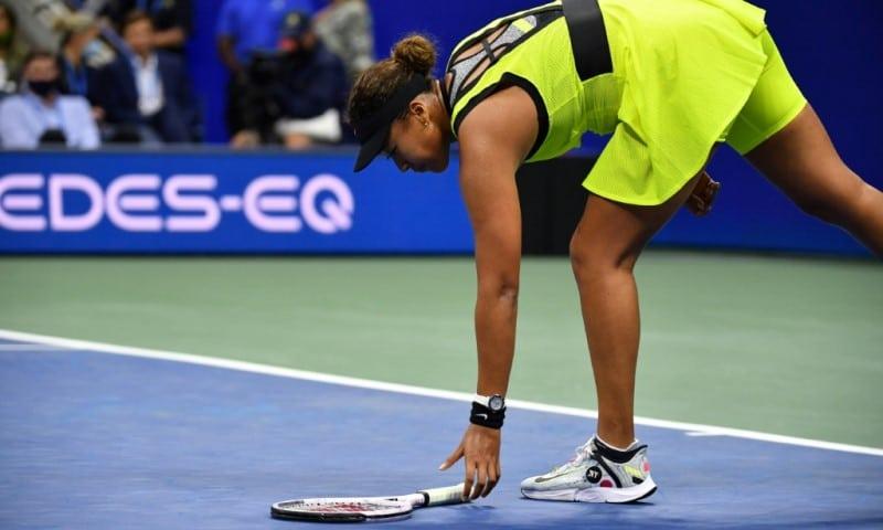 Naomi Osaka Retrieves the Racquet