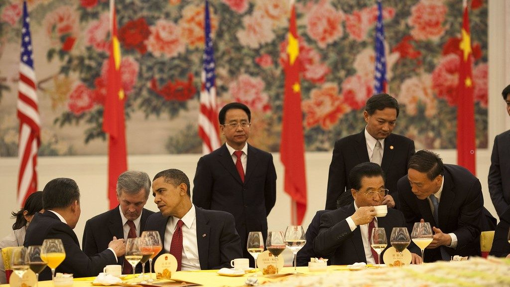 National People's Copngress - State Dinner 2009