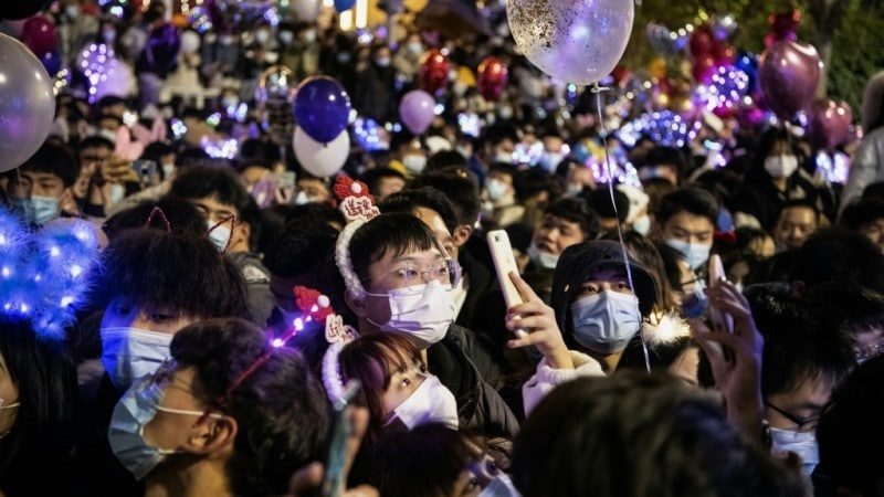 New Year Countdown in Wuhan