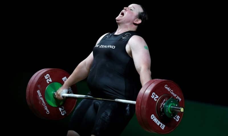 New Zealand Weightlifter Laurel Hubbard