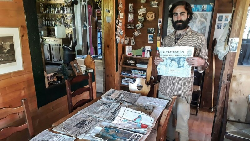 Newspapers Found by Timothee Mottin
