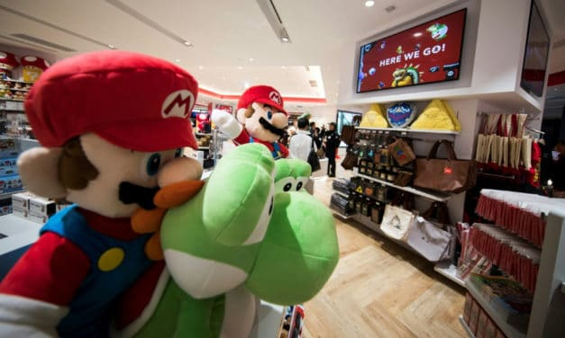 Tokyo Unveils it's Very First Nintendo Store