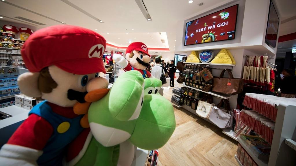 Nintendo's Store ©AFP