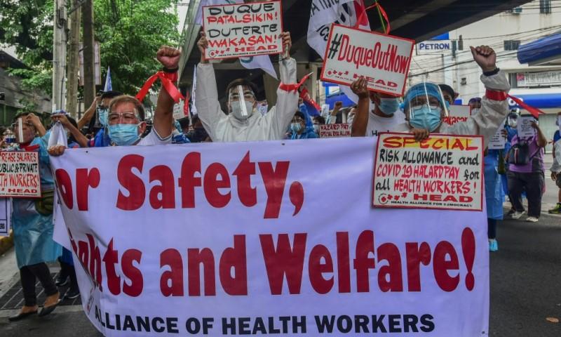 Nurses in the Philippines