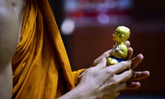 Thailand's 'Golden Son' Dolls Bring Believers Luck and Protection