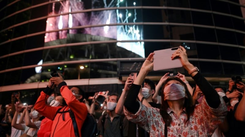 Olympic Fans in Tokyo