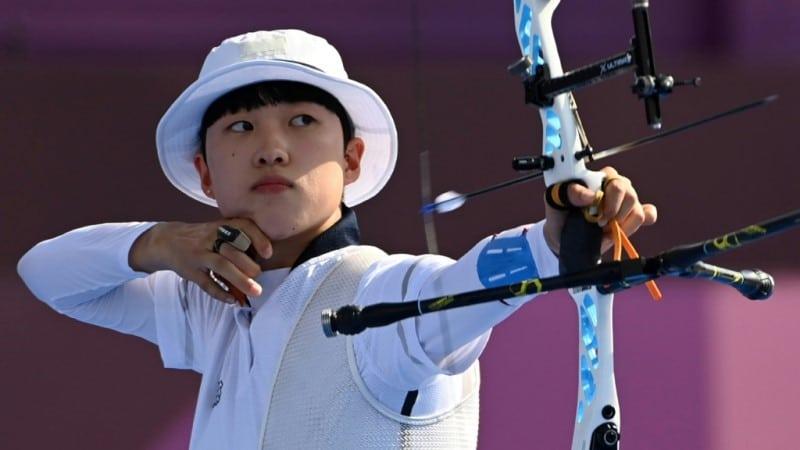 Olympic Gold Medalist An San