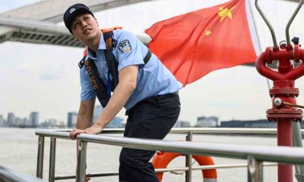 Chinese Swimmer Goes From Olympic Podium to River Police