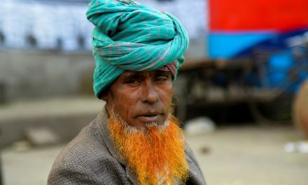 Orange Beard is Trending in Bangladesh