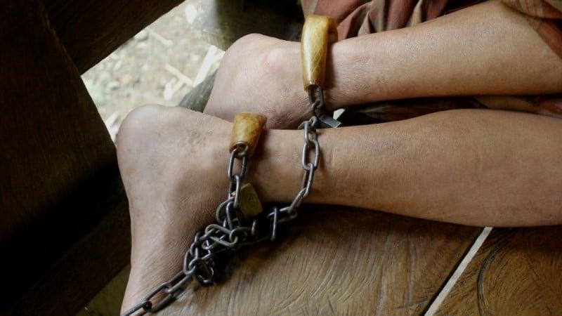Padlocks, Shackles and Chains