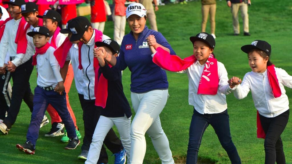 Pak Se-ri Inspired a Korean Golfing Boom.afp