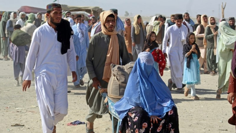 Pakistan-Afghanistan Border in Chaman