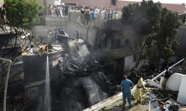 Distracted Pilots Chatting on Coronavirus Blamed for Deadly Pakistan Plane Crash