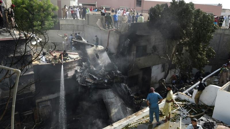 Pakistan Plane Crash.afp