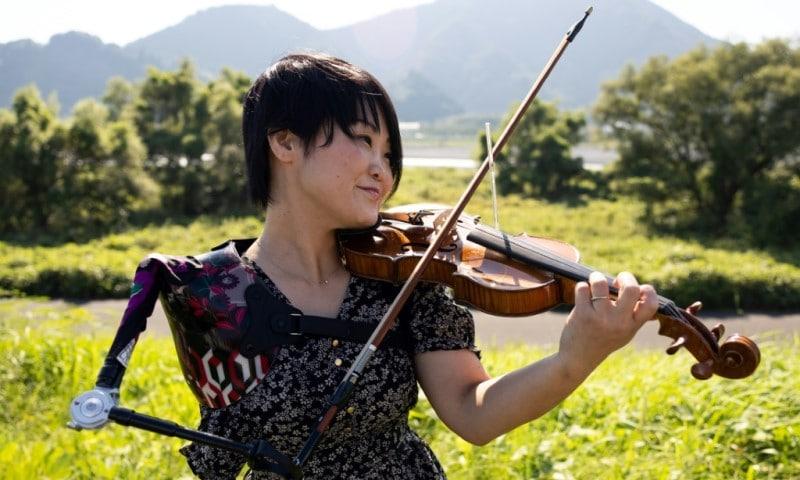 Paralympian Manami Ito