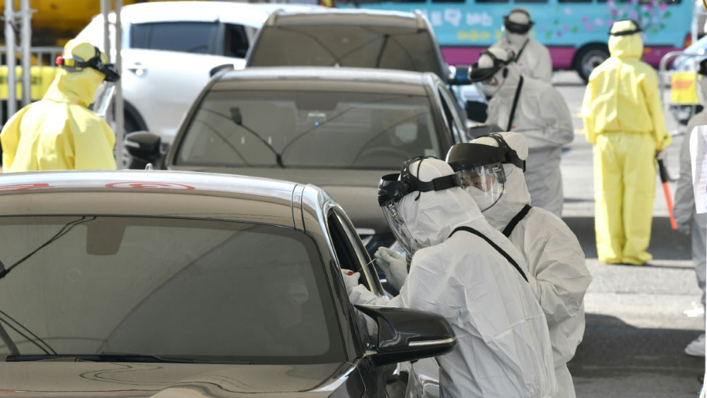 Patients Infected with the Virus is Available Online in South Korea.afp