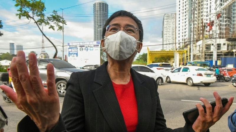 Philippine Journalist Maria Ressa
