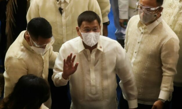 Philippines' Duterte Says Will Run for Vice President in 2022