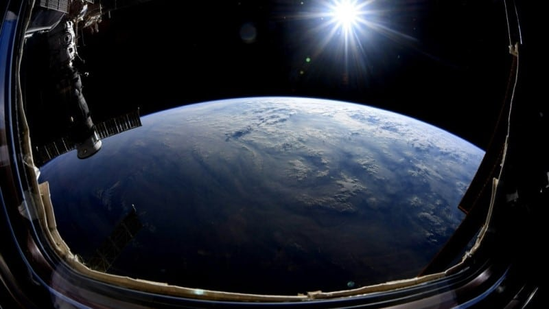 Photograph of Earth from ISS