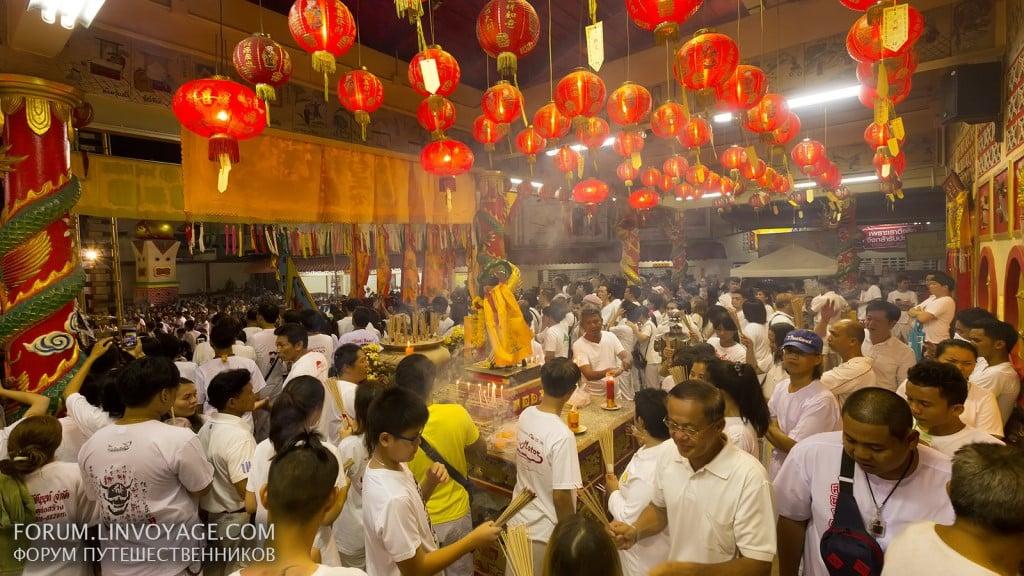 Phuket Vegetarian Festival , Night Streets