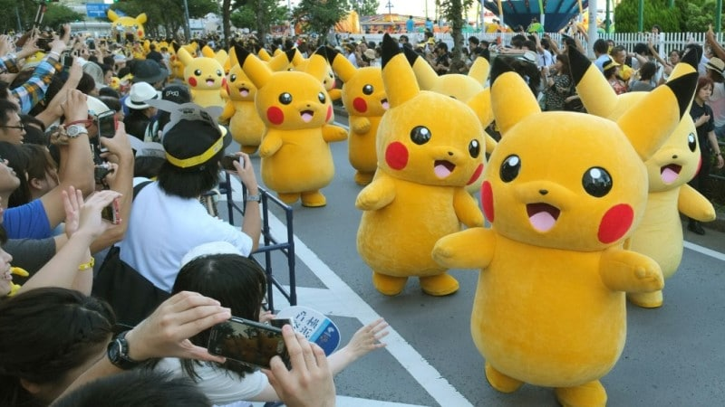 Pikachu Best-known Pokemon