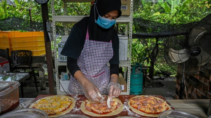 Pizzas for the Holy Month of Ramadan