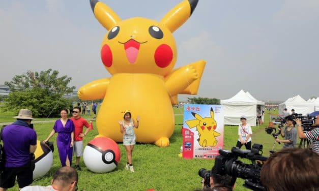 Taiwan: Tens of Thousands Join Pokemon go Safari to Catch 'em all