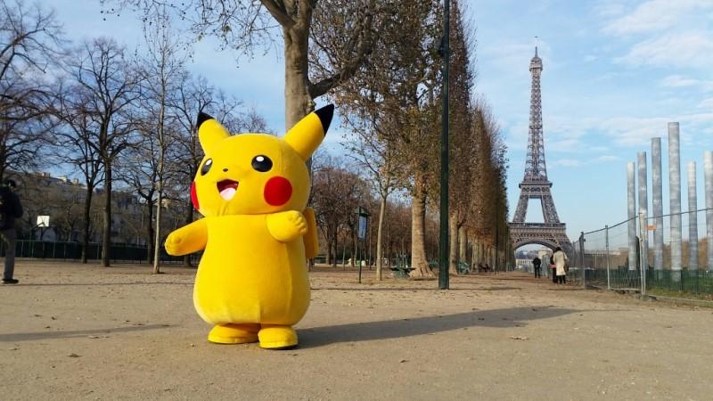 Pokemon Go Around the World