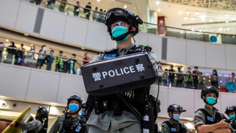 Police Powers in Hong Kong.afp