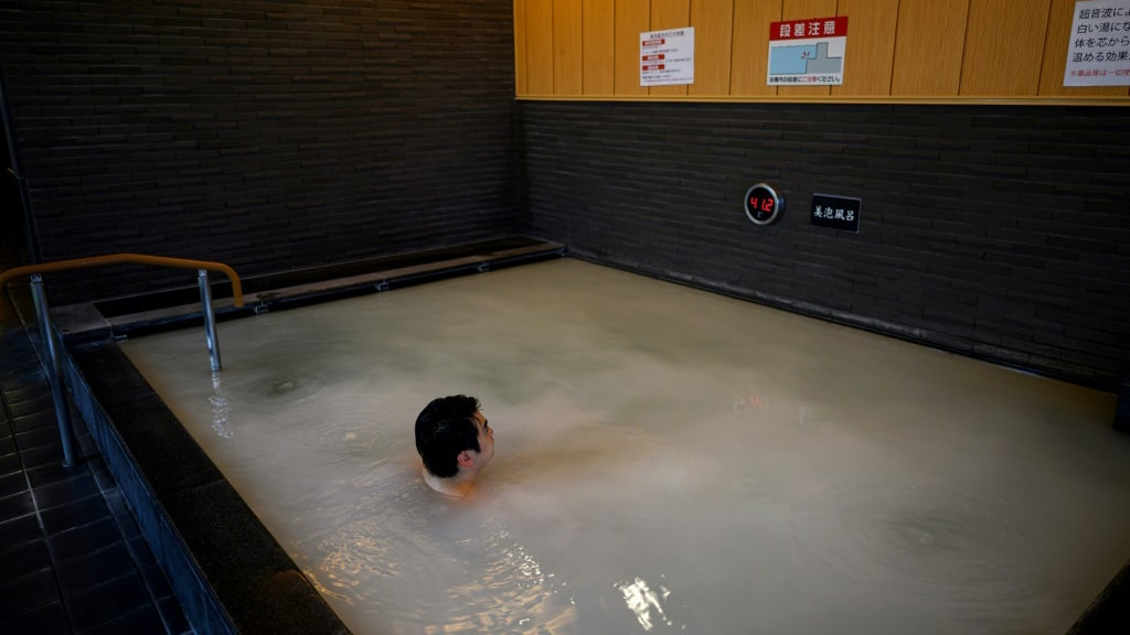 Pools and Tubs are Said to Offer Health Benefits.afp