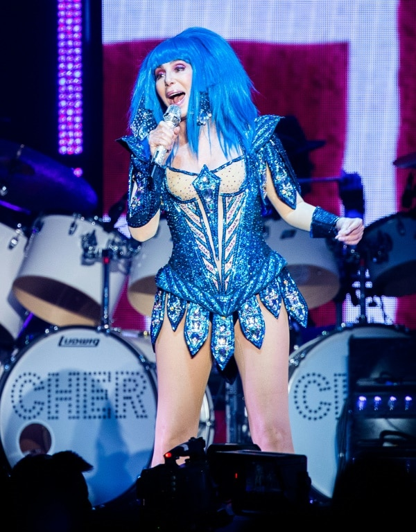 Pop Star Cher had Backed the Rights Campaign for the Lonely Elephant.afp