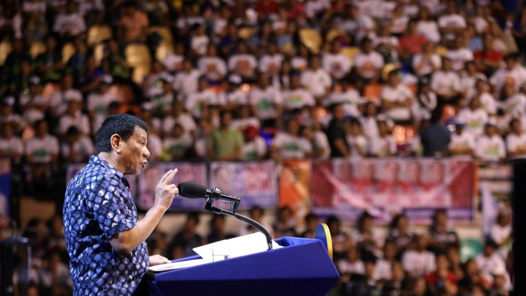 President Duterte to Lanao del Sur's troublemakers