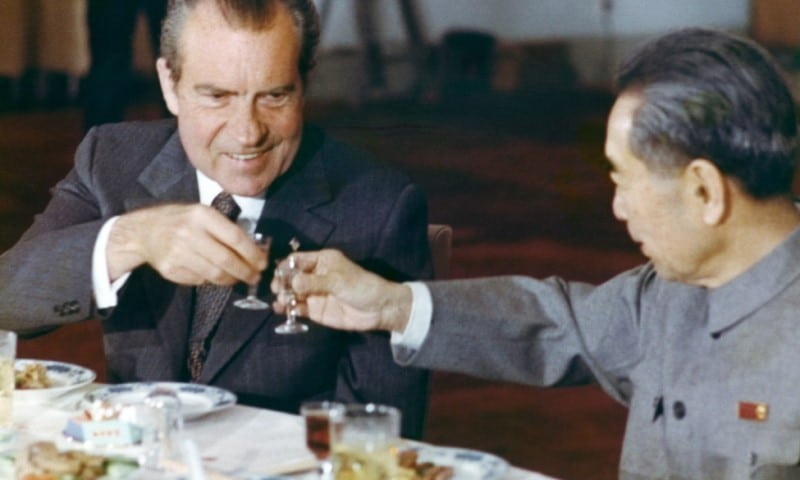 President Richard Nixon in China