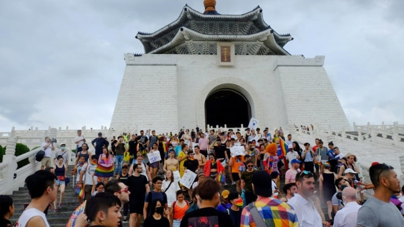 Pride Month Celebration in Taiwan.afp