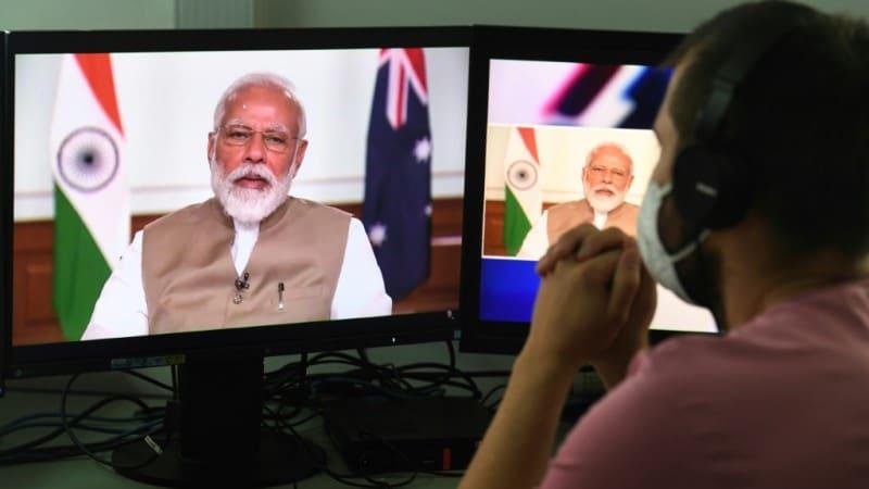 Prime Minister Narendra Modi Banning Tik Tok.afp