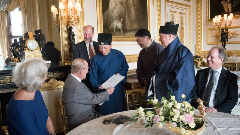 Prince Philip Daoists at Windsor Castle